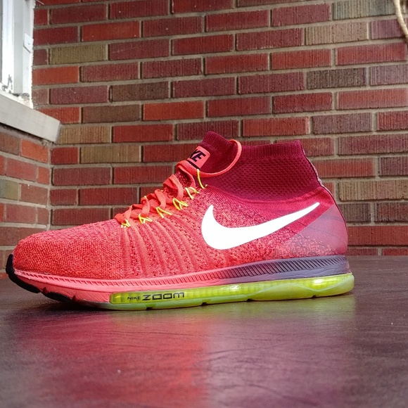 Nike Other - NIKE ZOOM ALL OUT FLYKNIT RUNNING SHOES SZ 11.5